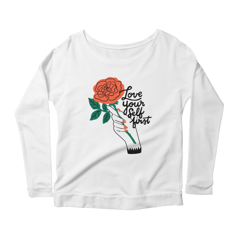 Love Yourself First Women's Longsleeve T-Shirt by 5 Eye Studio