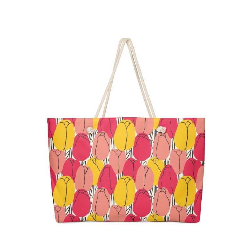 Graphic Tulips Print Masks + Goodies Bag by 5 Eye Studio