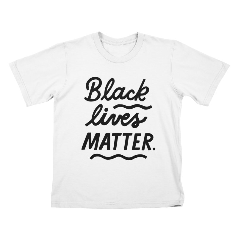 BLACK LIVES MATTER | 1 Kids T-Shirt by 5 Eye Studio