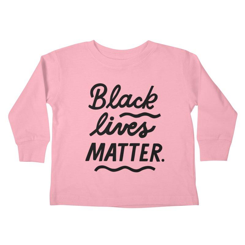 BLACK LIVES MATTER | 1 Kiddos Toddler Longsleeve T-Shirt by 5 Eye Studio