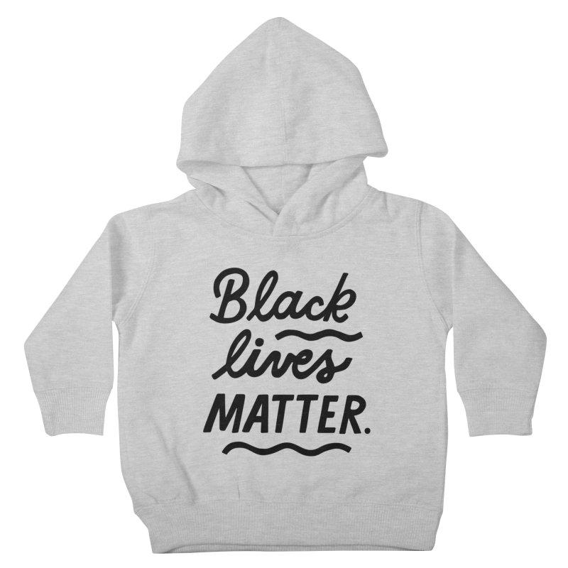 BLACK LIVES MATTER | 1 Kids Toddler Pullover Hoody by 5 Eye Studio