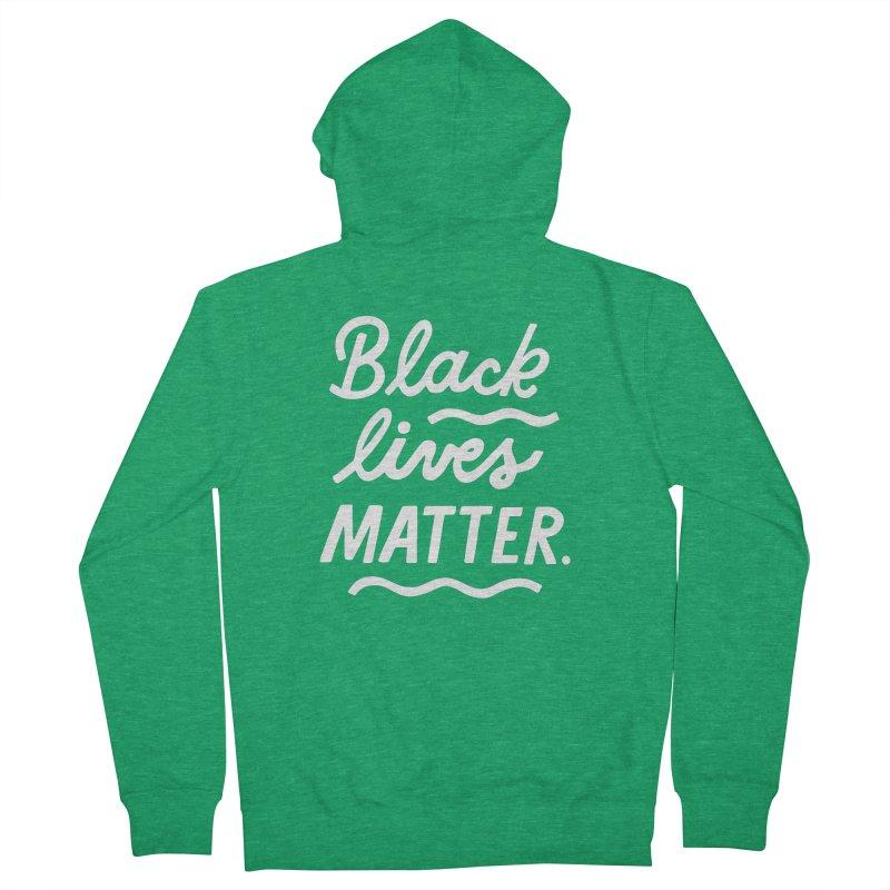 BLACK LIVES MATTER | 2 Women's Zip-Up Hoody by 5 Eye Studio
