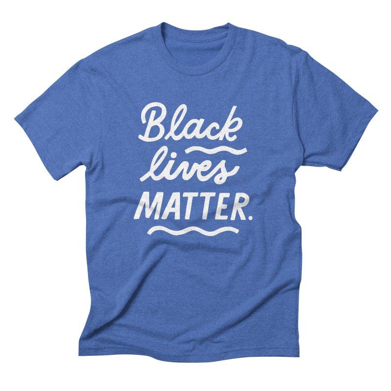 BLACK LIVES MATTER   2 Men's T-Shirt by 5 Eye Studio