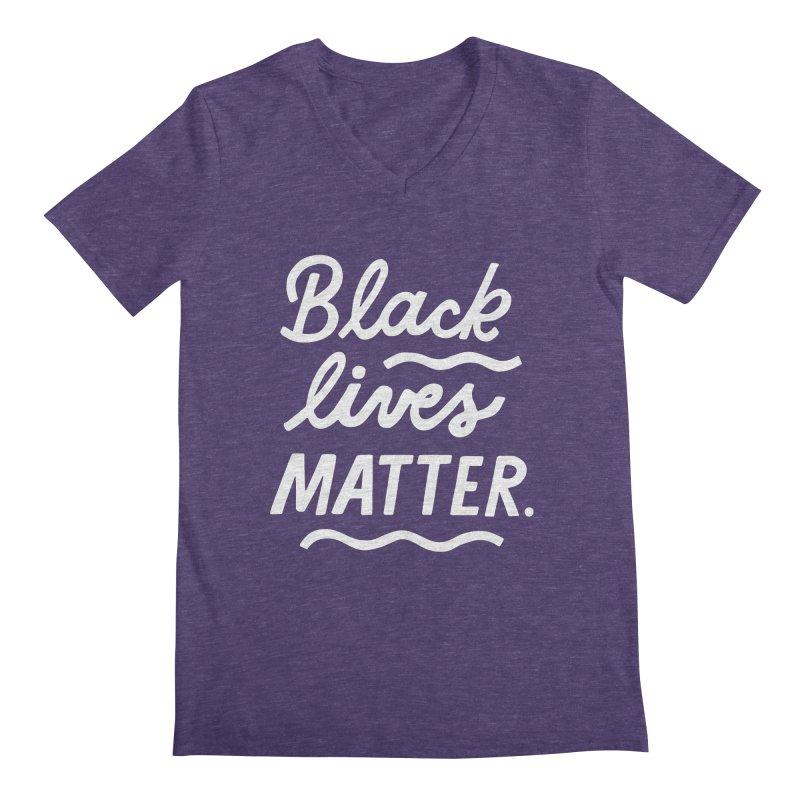 BLACK LIVES MATTER | 2 Guys V-Neck by 5 Eye Studio