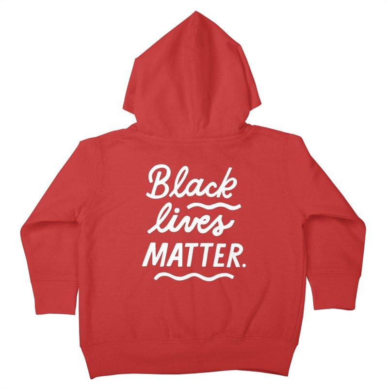 BLACK LIVES MATTER | 2 Kids Toddler Zip-Up Hoody by 5 Eye Studio