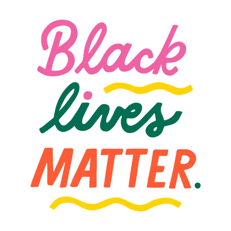 BLACK LIVES MATTER | 3 Home Fine Art Print by 5 Eye Studio