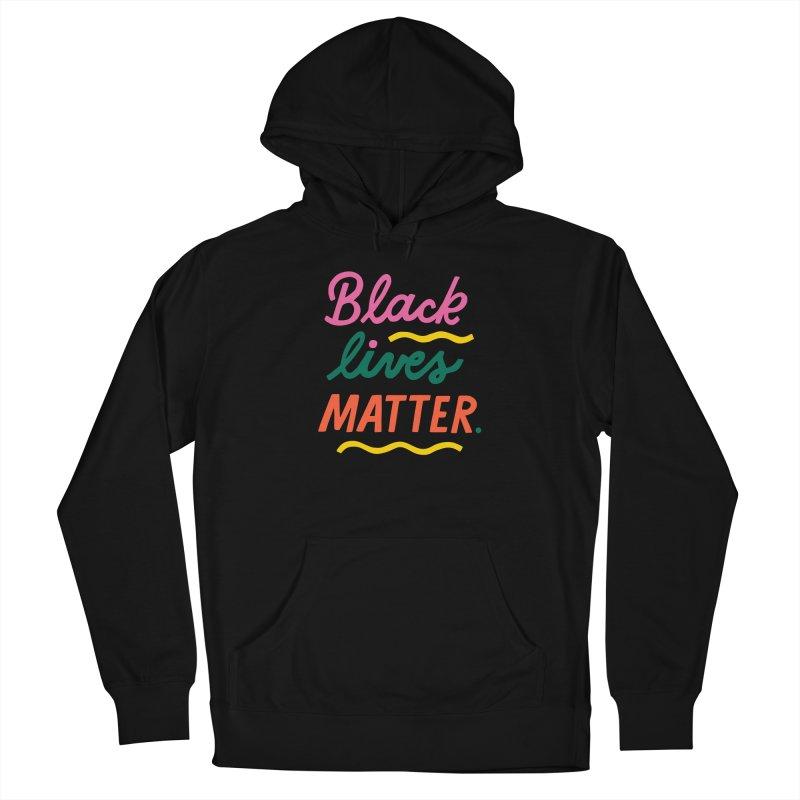 BLACK LIVES MATTER   3 Guys Pullover Hoody by 5 Eye Studio