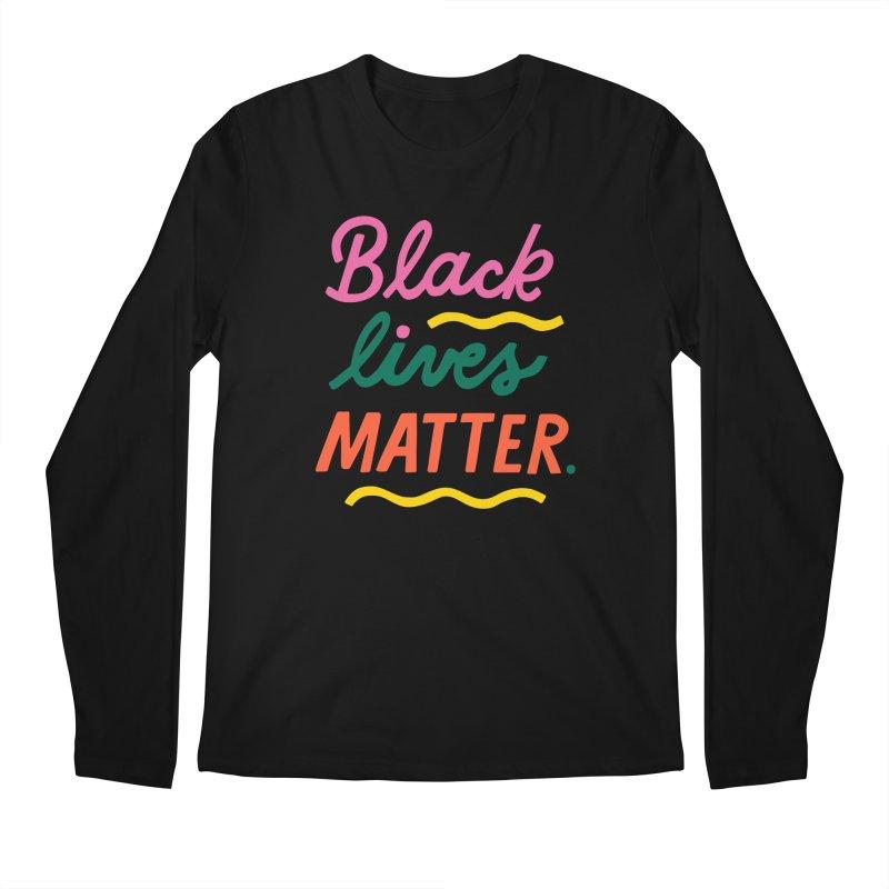 BLACK LIVES MATTER | 3 Men's Longsleeve T-Shirt by 5 Eye Studio