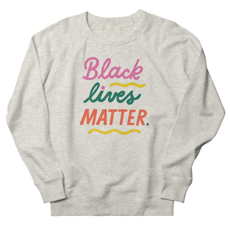 BLACK LIVES MATTER | 3 Men's Sweatshirt by 5 Eye Studio