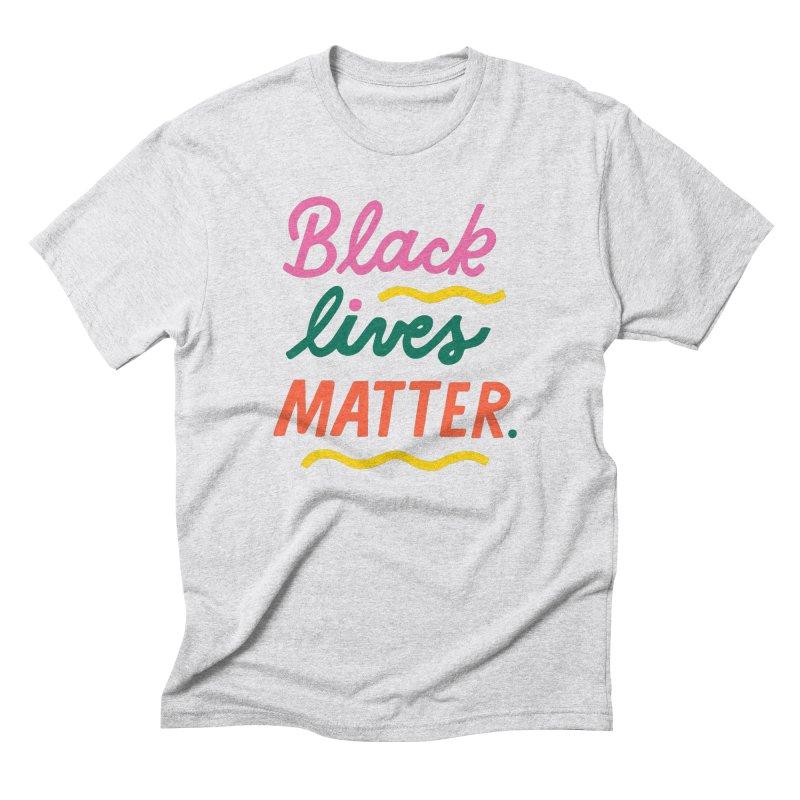 BLACK LIVES MATTER | 3 Men's T-Shirt by 5 Eye Studio
