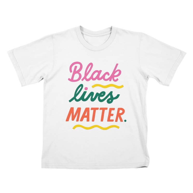 BLACK LIVES MATTER | 3 Kids T-Shirt by 5 Eye Studio