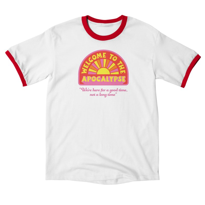 The Apocalypse is Nigh Men's T-Shirt by 5 Eye Studio