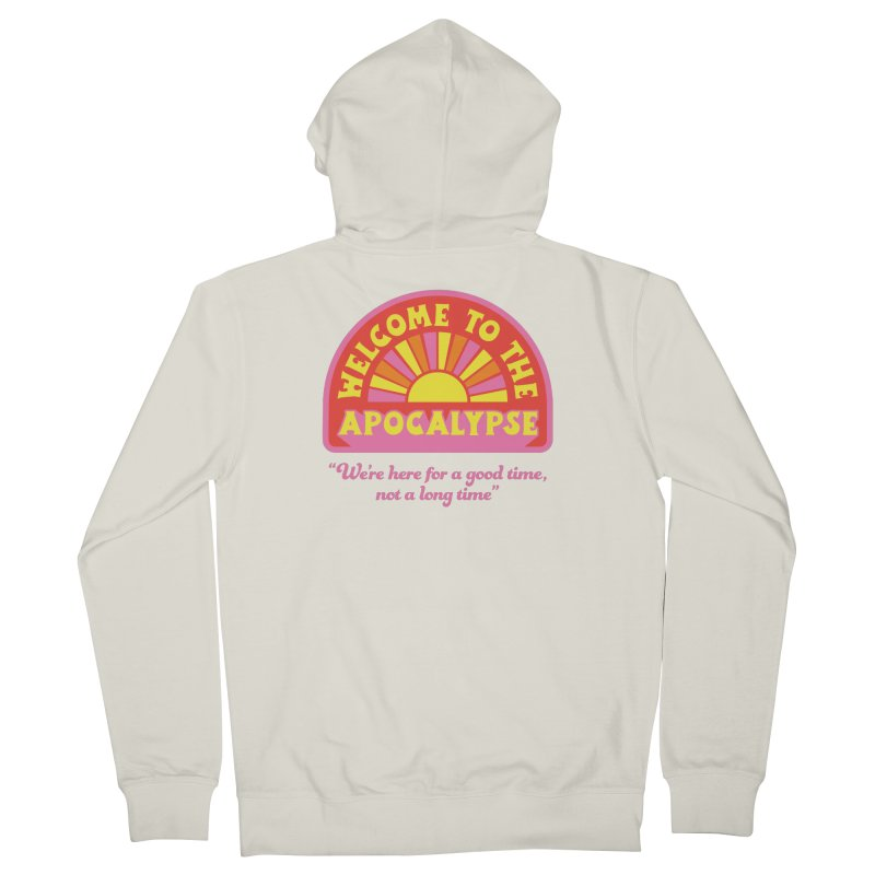 The Apocalypse is Nigh Women's Zip-Up Hoody by 5 Eye Studio