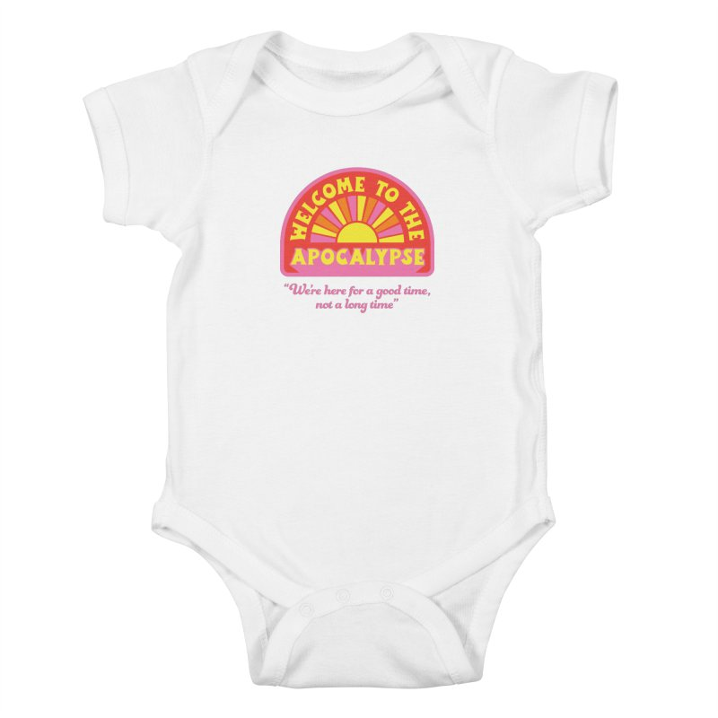 The Apocalypse is Nigh Kids Baby Bodysuit by 5 Eye Studio