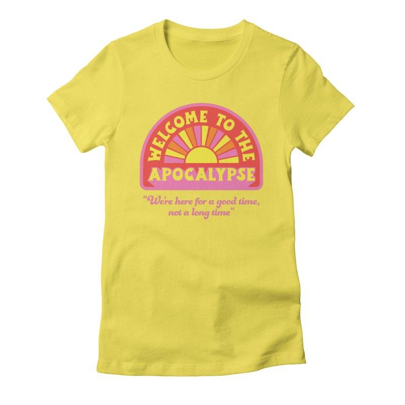 The Apocalypse is Nigh Gals T-Shirt by 5 Eye Studio