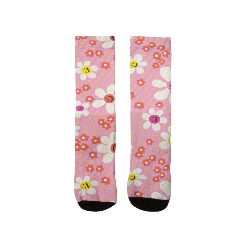 Wear Your Feelings Men's Socks by 5 Eye Studio