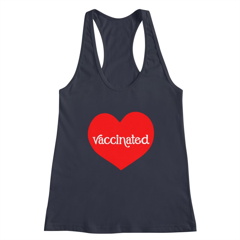 Vaccinated Heart Gals Tank by 5 Eye Studio