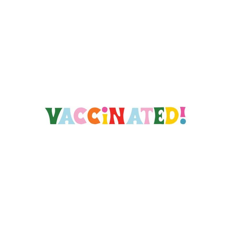 Vaccinated Retro Rainbow Guys Pullover Hoody by 5 Eye Studio