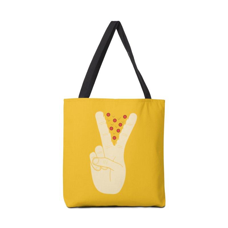 Peace-Za Accessories Tote Bag Bag by 5eth's Artist Shop