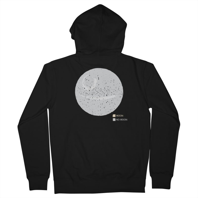 No Moon Women's Zip-Up Hoody by 5eth's Artist Shop