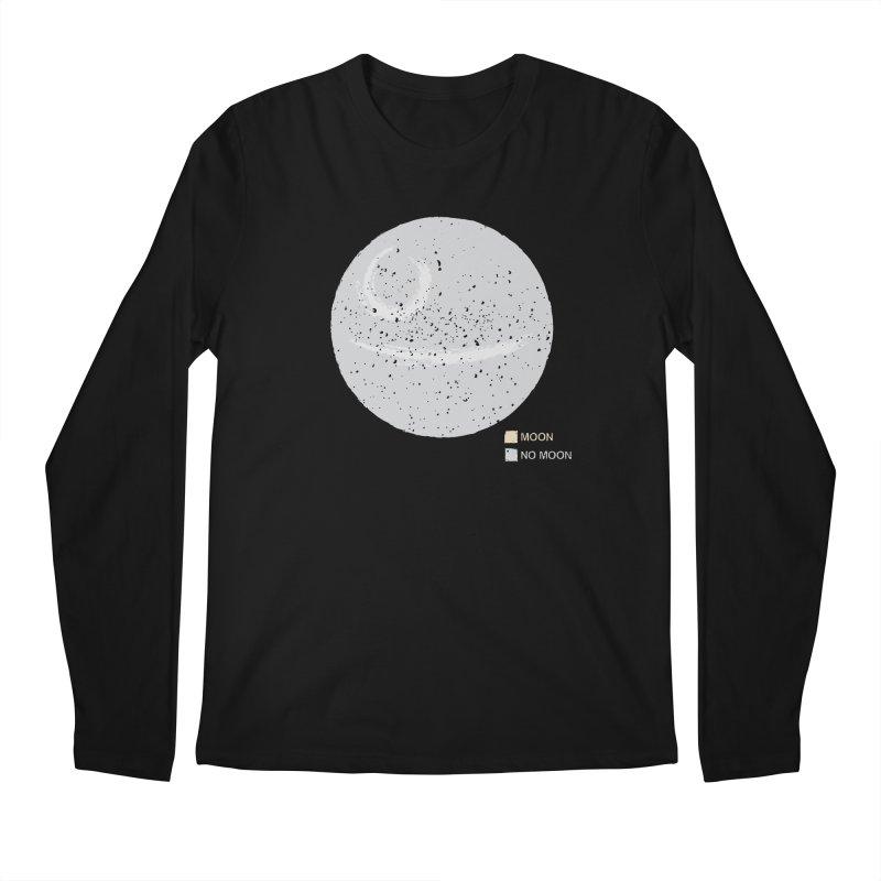 No Moon Men's Regular Longsleeve T-Shirt by 5eth's Artist Shop