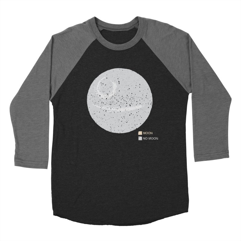 No Moon Men's Baseball Triblend T-Shirt by 5eth's Artist Shop