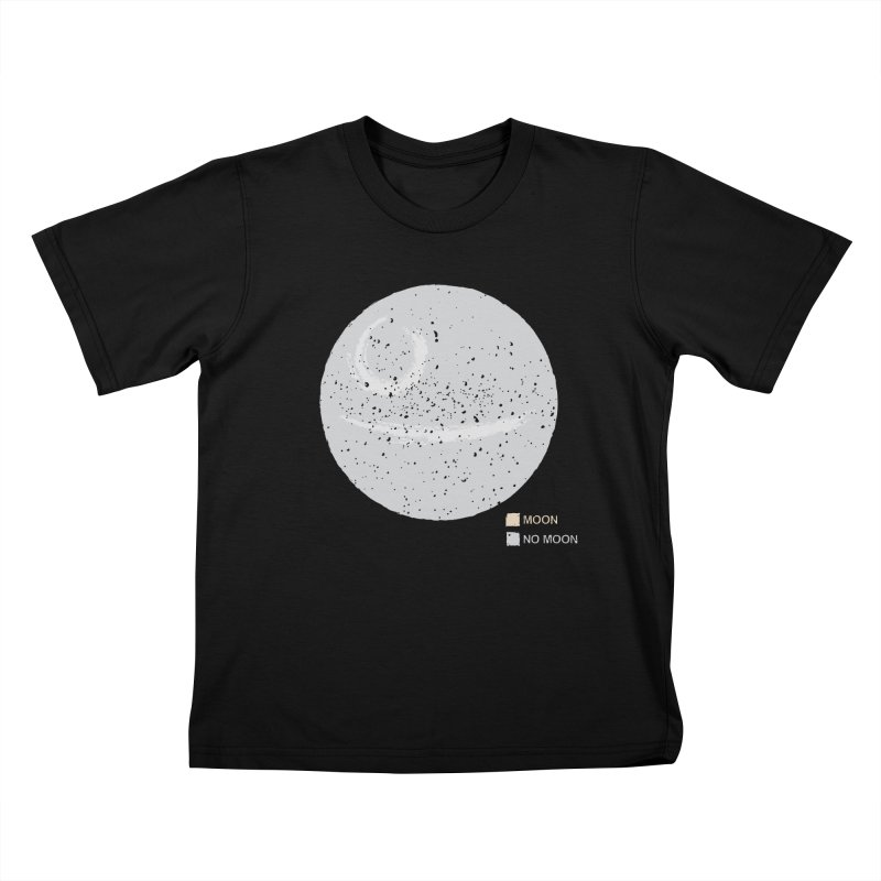 No Moon Kids T-Shirt by 5eth's Artist Shop