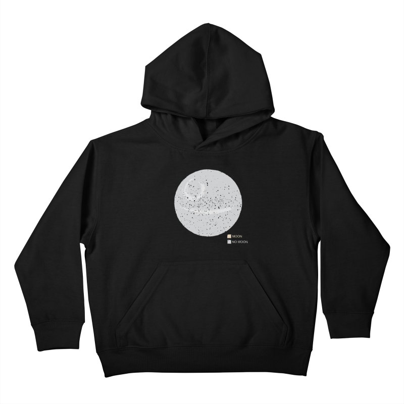No Moon Kids Pullover Hoody by 5eth's Artist Shop