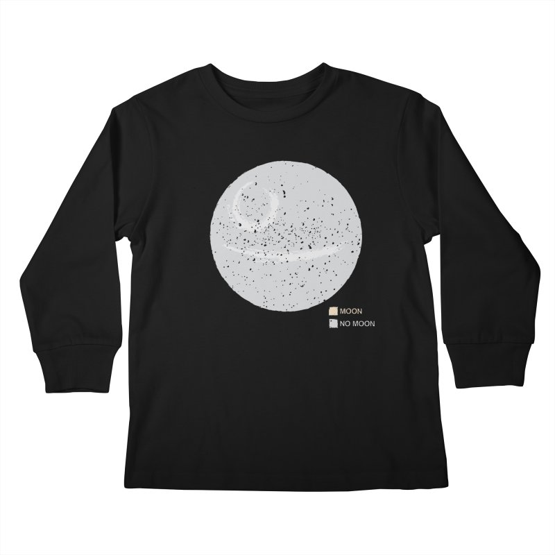 No Moon Kids Longsleeve T-Shirt by 5eth's Artist Shop