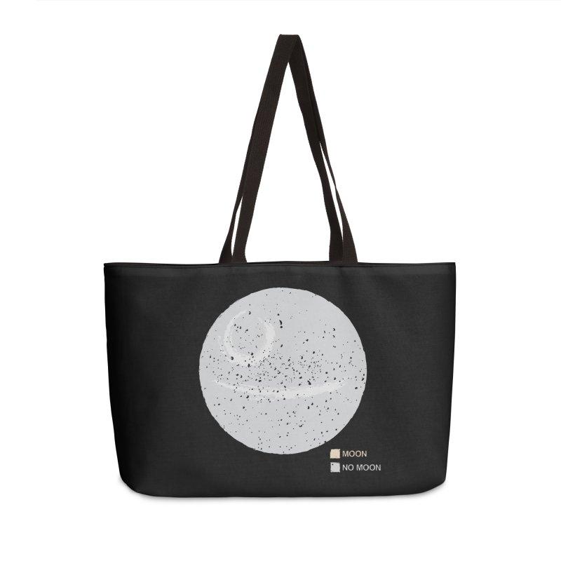 No Moon Accessories Weekender Bag Bag by 5eth's Artist Shop
