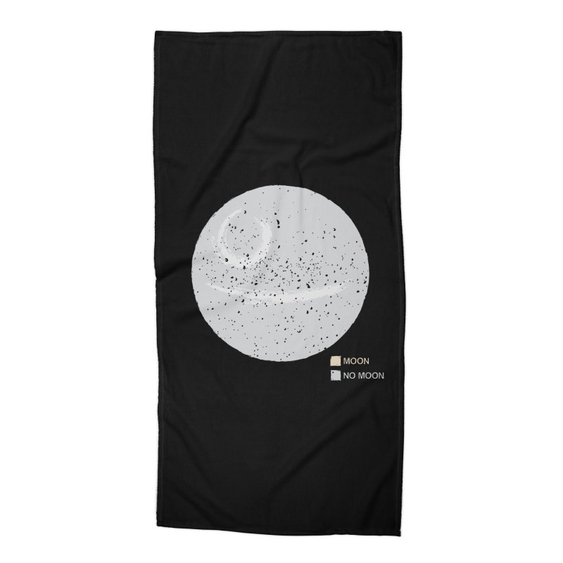 No Moon Accessories Beach Towel by 5eth's Artist Shop