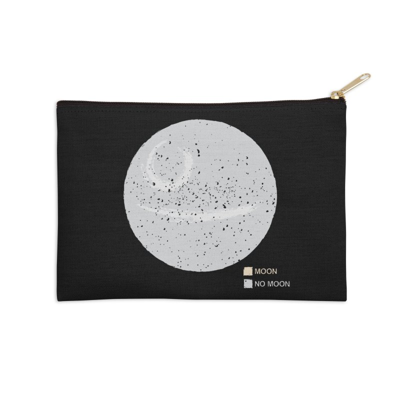 No Moon Accessories Zip Pouch by 5eth's Artist Shop