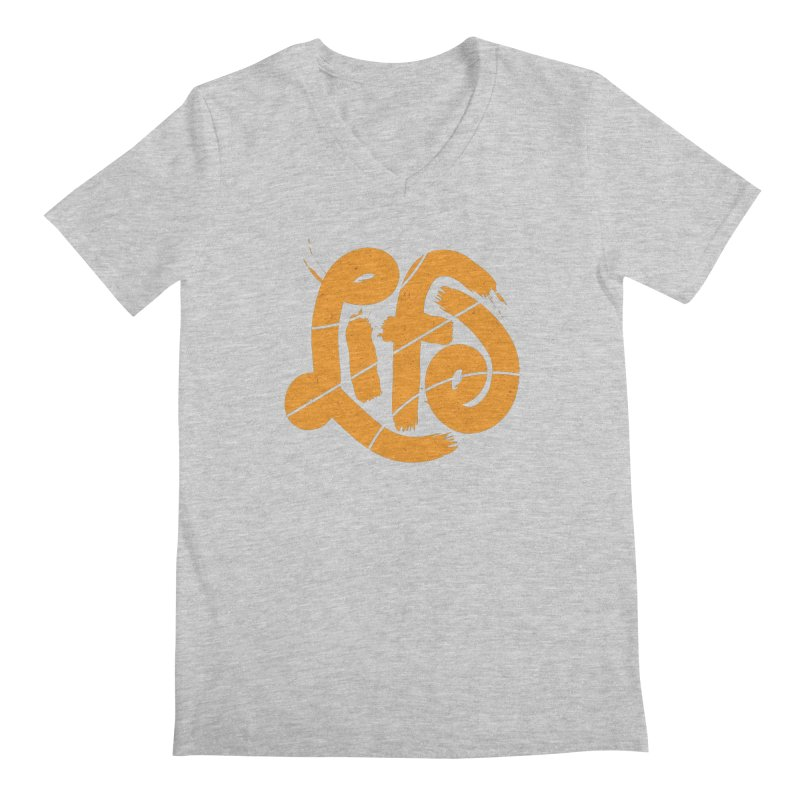 Ball is Life Men's V-Neck by 5eth's Artist Shop
