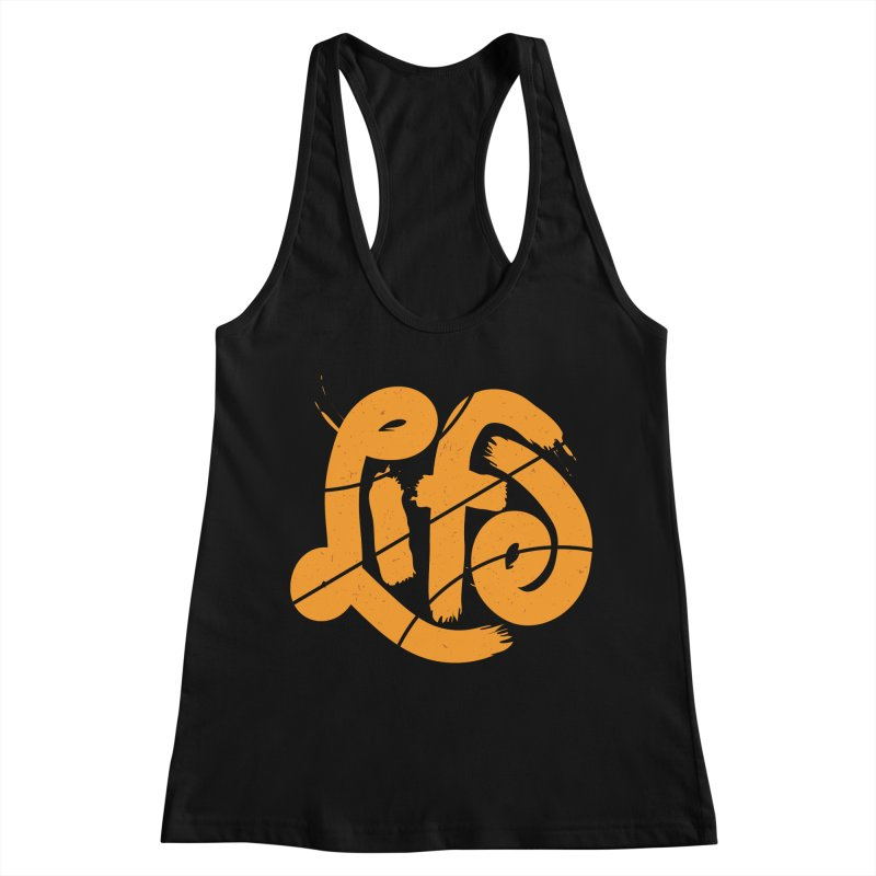 Ball is Life Women's Racerback Tank by 5eth's Artist Shop