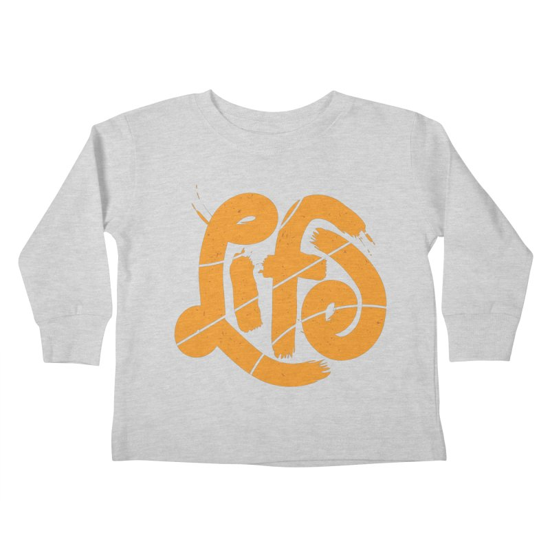 Ball is Life Kids Toddler Longsleeve T-Shirt by 5eth's Artist Shop