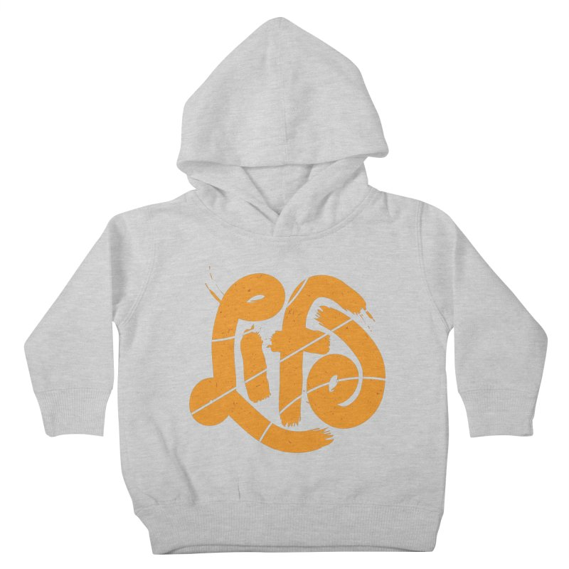 Ball is Life Kids Toddler Pullover Hoody by 5eth's Artist Shop