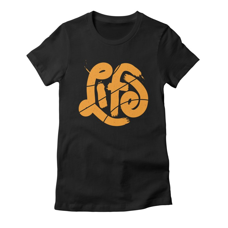 Ball is Life Women's Fitted T-Shirt by 5eth's Artist Shop
