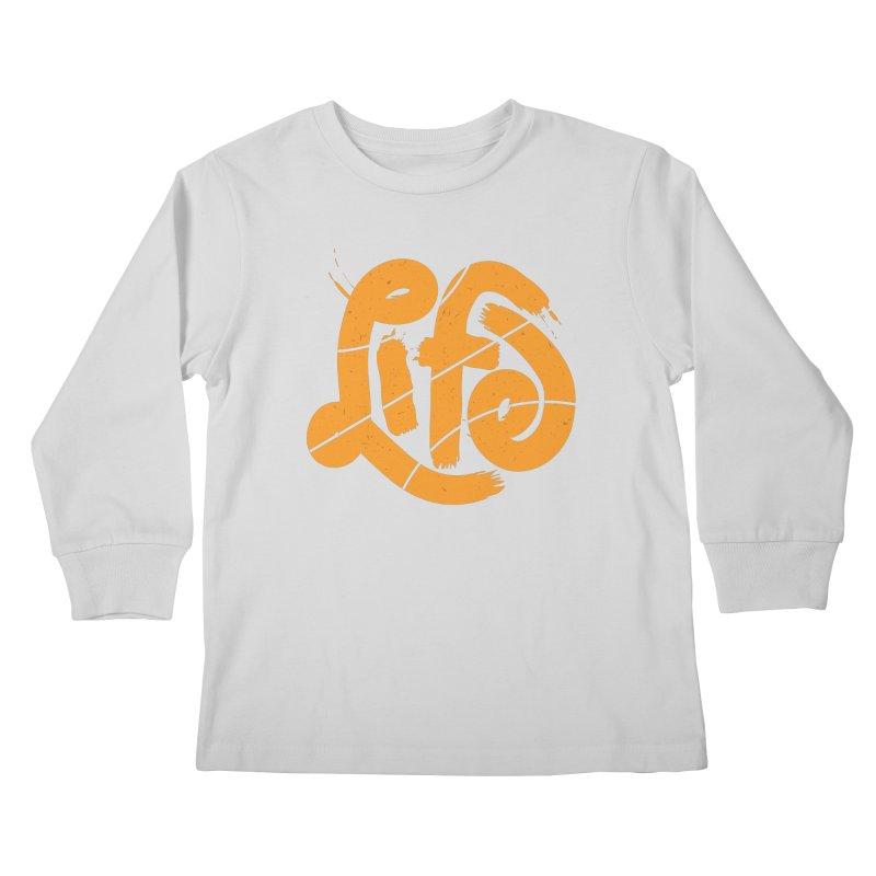 Ball is Life Kids Longsleeve T-Shirt by 5eth's Artist Shop