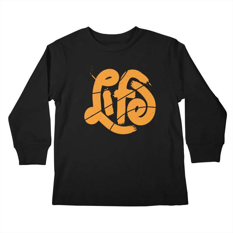 Ball is Life Kids Longsleeve T-Shirt by 5eth's Artist Shop