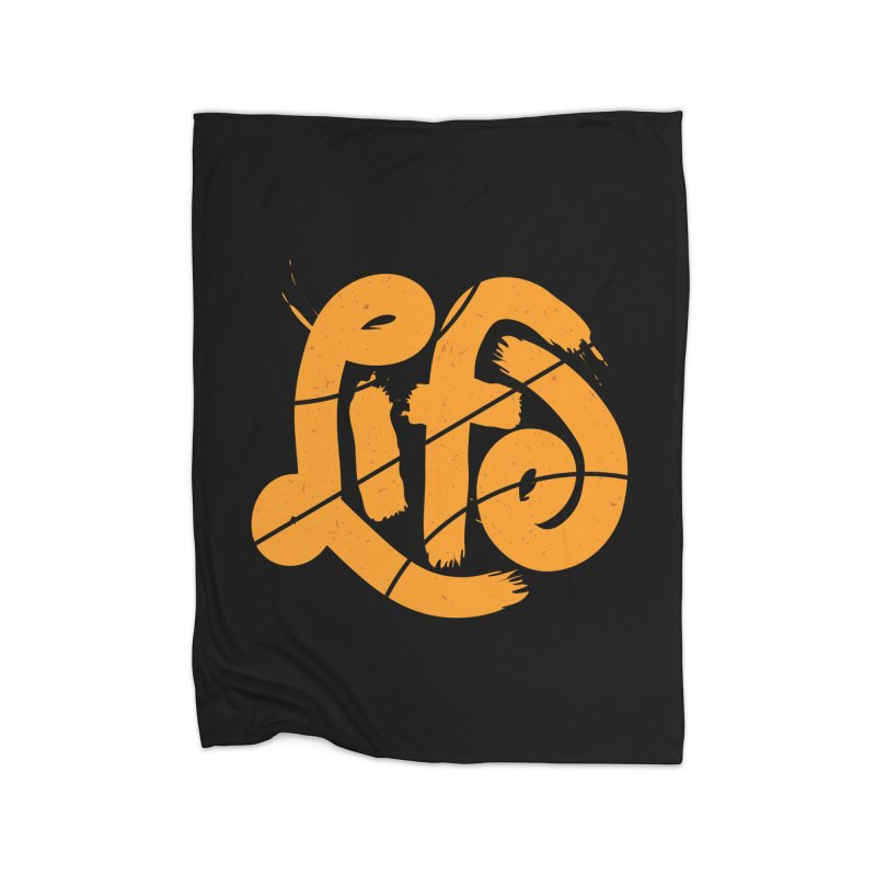 Ball is Life Home Fleece Blanket by 5eth's Artist Shop