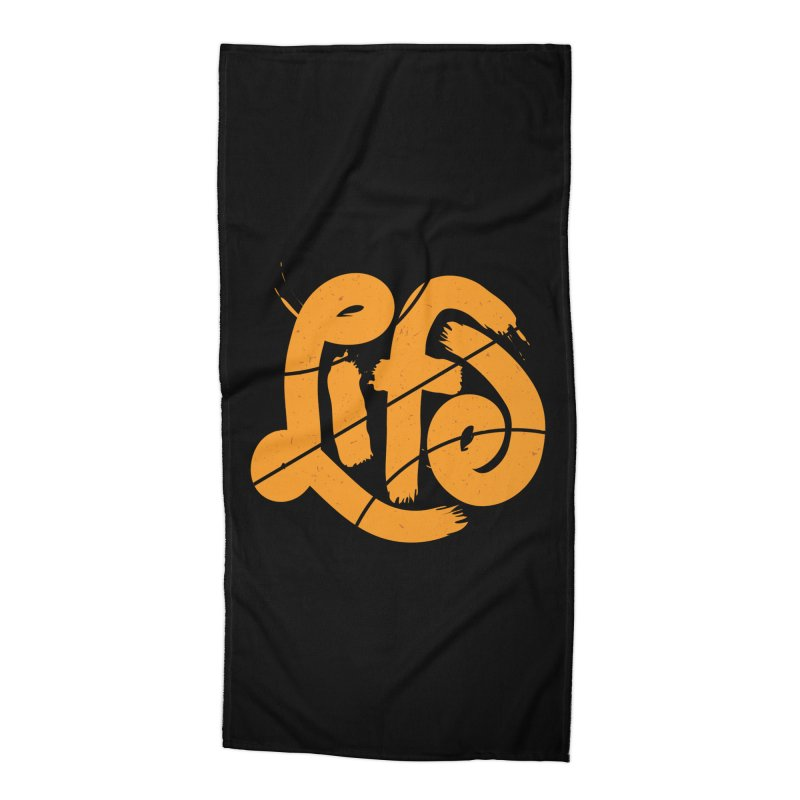 Ball is Life Accessories Beach Towel by 5eth's Artist Shop