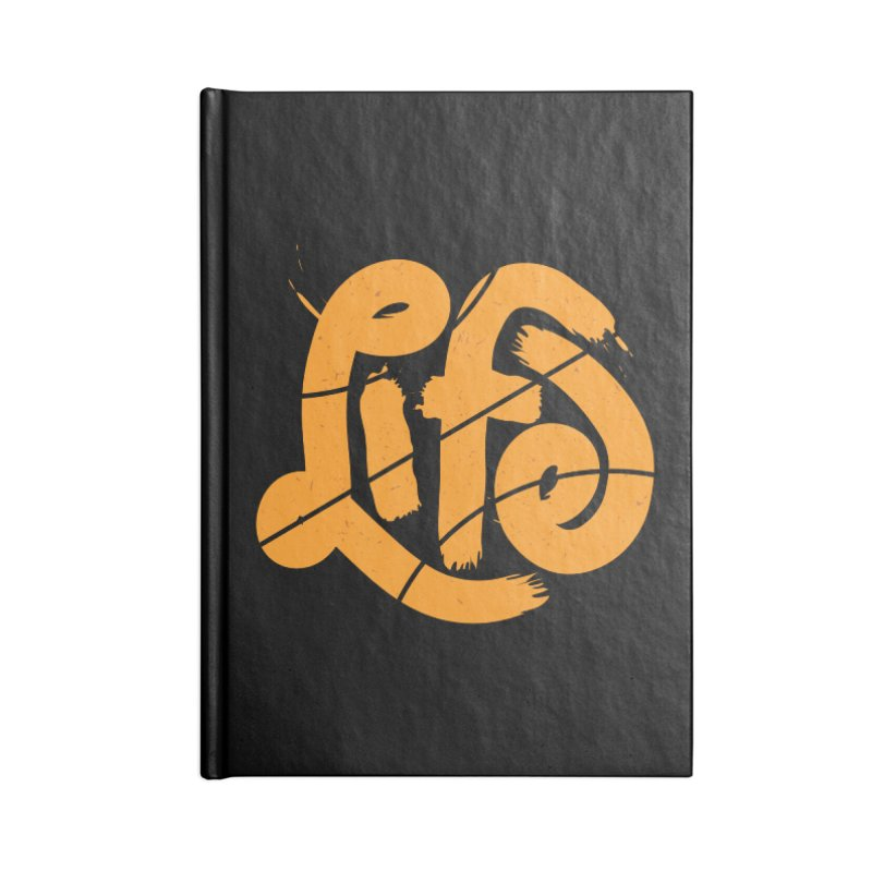Ball is Life Accessories Lined Journal Notebook by 5eth's Artist Shop