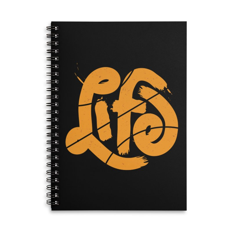 Ball is Life Accessories Lined Spiral Notebook by 5eth's Artist Shop