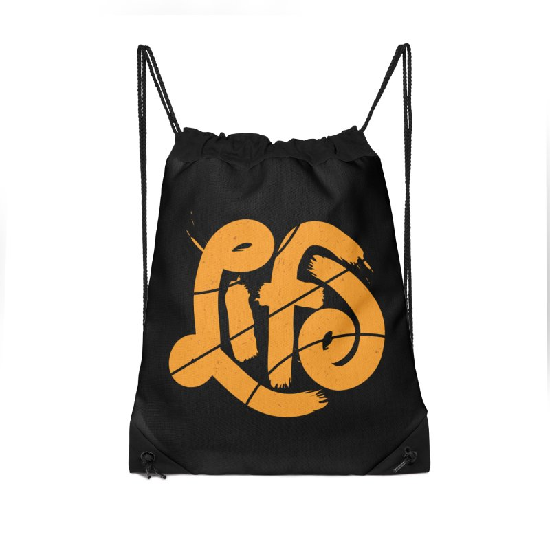 Ball is Life Accessories Drawstring Bag Bag by 5eth's Artist Shop