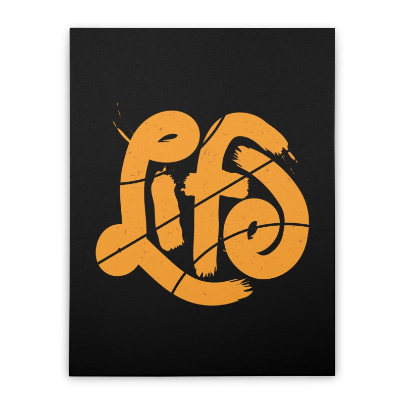 Ball is Life Home Stretched Canvas by 5eth's Artist Shop