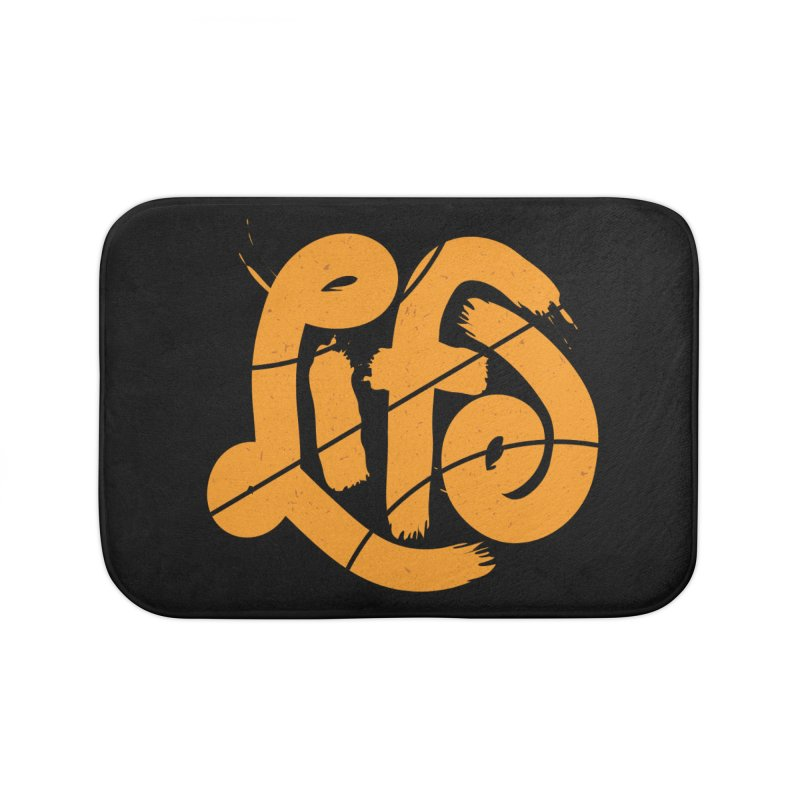 Ball is Life Home Bath Mat by 5eth's Artist Shop