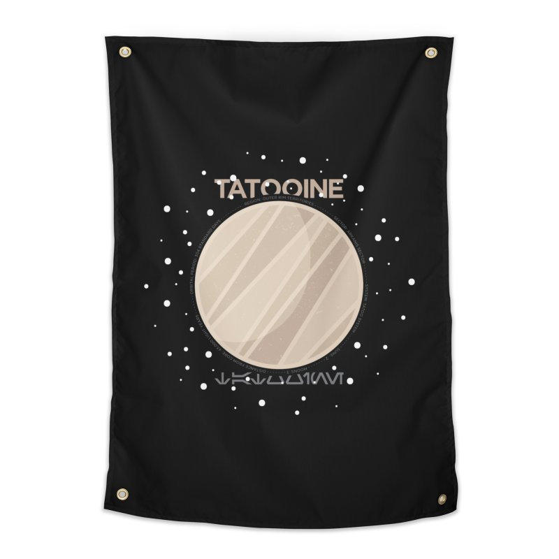 Tatooine Home Tapestry by 5eth's Artist Shop