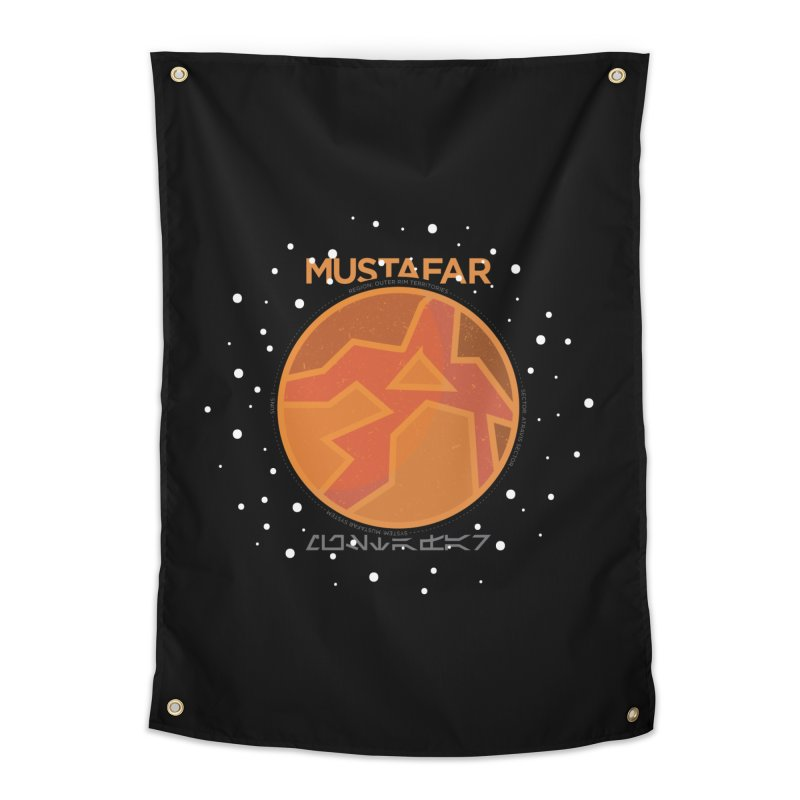 Mustafar Home Tapestry by 5eth's Artist Shop