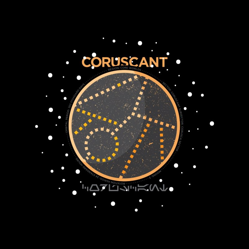 Coruscant by 5eth's Artist Shop