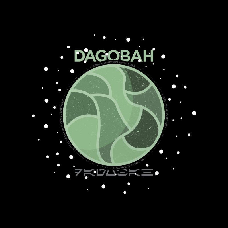 Dagobah Home Tapestry by 5eth's Artist Shop